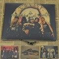 Vintage Poster Guns N Roses poster Slash guitarist rock painting master retro poster 30x21cm