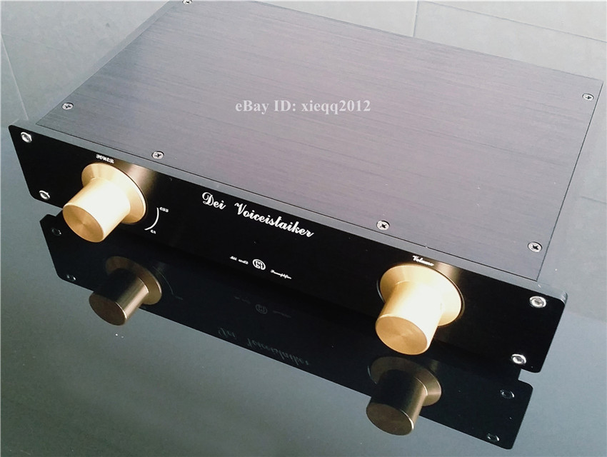 QP1 Mini MBL6010 Preamplifier With AD797ANZ Opamps Finished|Amplifier| |  - title=