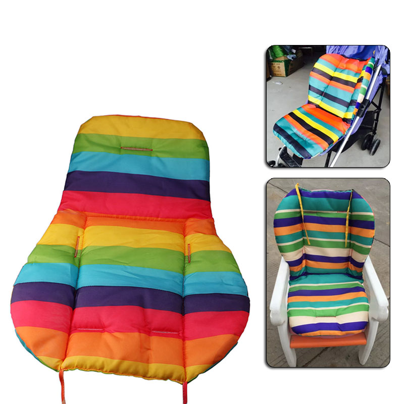 High Quanlity Colorful Stripes Anti Dirty Baby Safety Seats