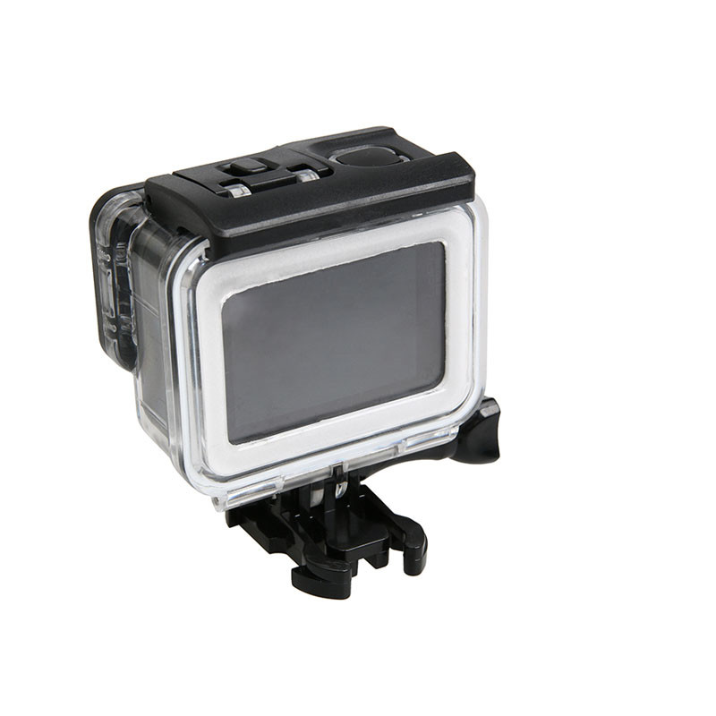For GoPro6 5 Accessories Waterproof Housing Case Diving 45M Protective + Touch Touchable Back Door for Go Pro Hero 6 5 Black ...