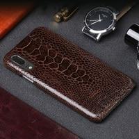 Wangcangli Роскошный кожаный чехол для телефона для huawei P20 страусиной кожи ног чехол для телефона модные мобильного телефона защиты задней оболо