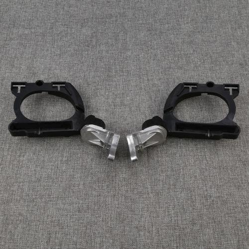Одна пара черный зеркала база Крепление для Хонда GL1800 2001-2013 Glodwing Новый