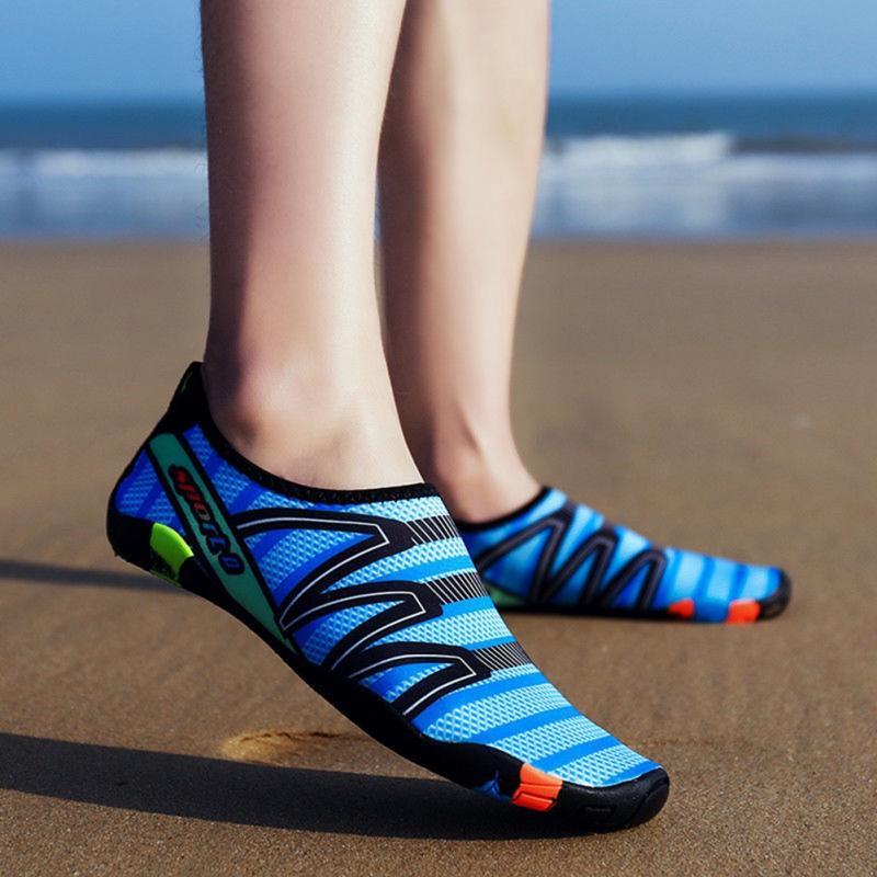 Tênis unissex Sapatos De Natação Esportes Aquáticos Surf Chinelos Sapatos de Praia Seaside Upstream Leve Calçados Esportivos Para Mulheres Dos Homens