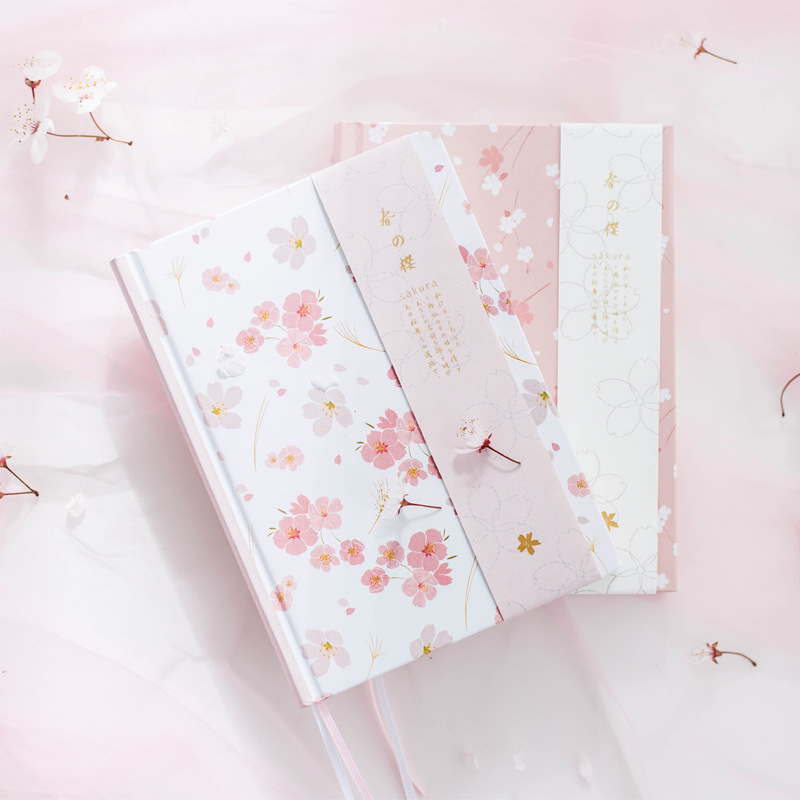 Korean New 2018 Kawaii Vintage Sakura Flower Schedule Yearly Diary Weekly Monthly Daily Planner Organizer Notebook A5 Stationery kicute 2017 2018 calendar a4 leather notebook schedule daily weekly monthly planner agenda organizer diary stationery gift