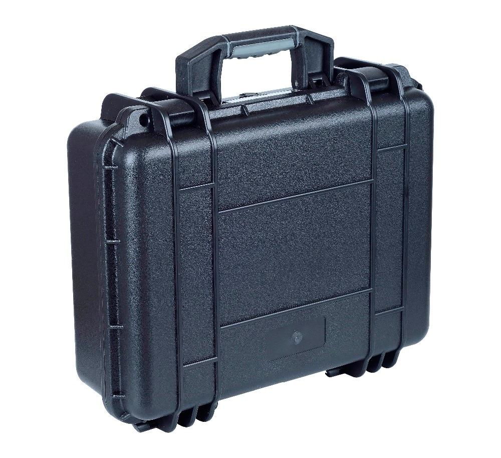 Waterproof Hard Case With Foam For Camera Video