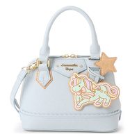Cute Women S Japanese Lolita PU Binary Star Unicorn Handbag Shoulder Bag Pon Stars New Gift