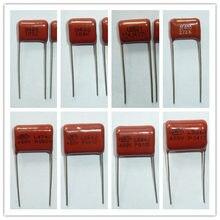 Capacitor cbb metálico de polipropileno, capacitor de 400v 103 ~ 475 10dll ~ 4.7uf, para todos os valores, 10 peças