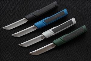 Image 3 - Wysokiej jakości VESPA Ripper, ostrze: M390 (satyna) uchwyt: 7075 aluminium + CF, survival odkryty EDC polowanie narzędzie taktyczne obiad nóż kuchenny