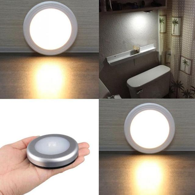 Light Sensor Led Stair Light 45v Stair Light Pir Wireless Auto