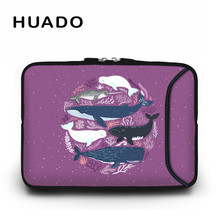 13.3 14inch whale image Laptop bag 10 12 13 14 15.6 17.3 Notebook case for ipad/