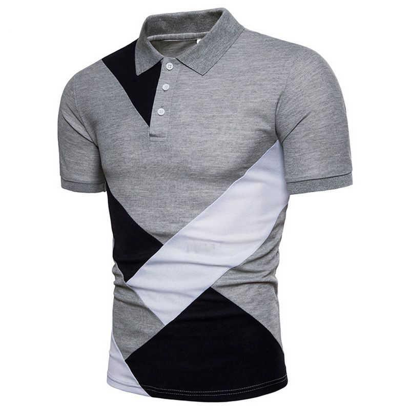 0bd4fa226 ... Laamei Men 2019 Summer Fashion Camisa Polo Shirts High Quality Short  Sleeve Mens Polo Shirt Brands ...