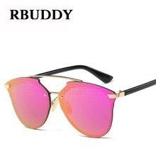 84ddccfe4dc RBUDDY Classic Rimless Sunglasses Retro Men Women Brand Designer Alloy Leg  Mirror len Eyewear Fashion Sun glass Gafas Lunettes