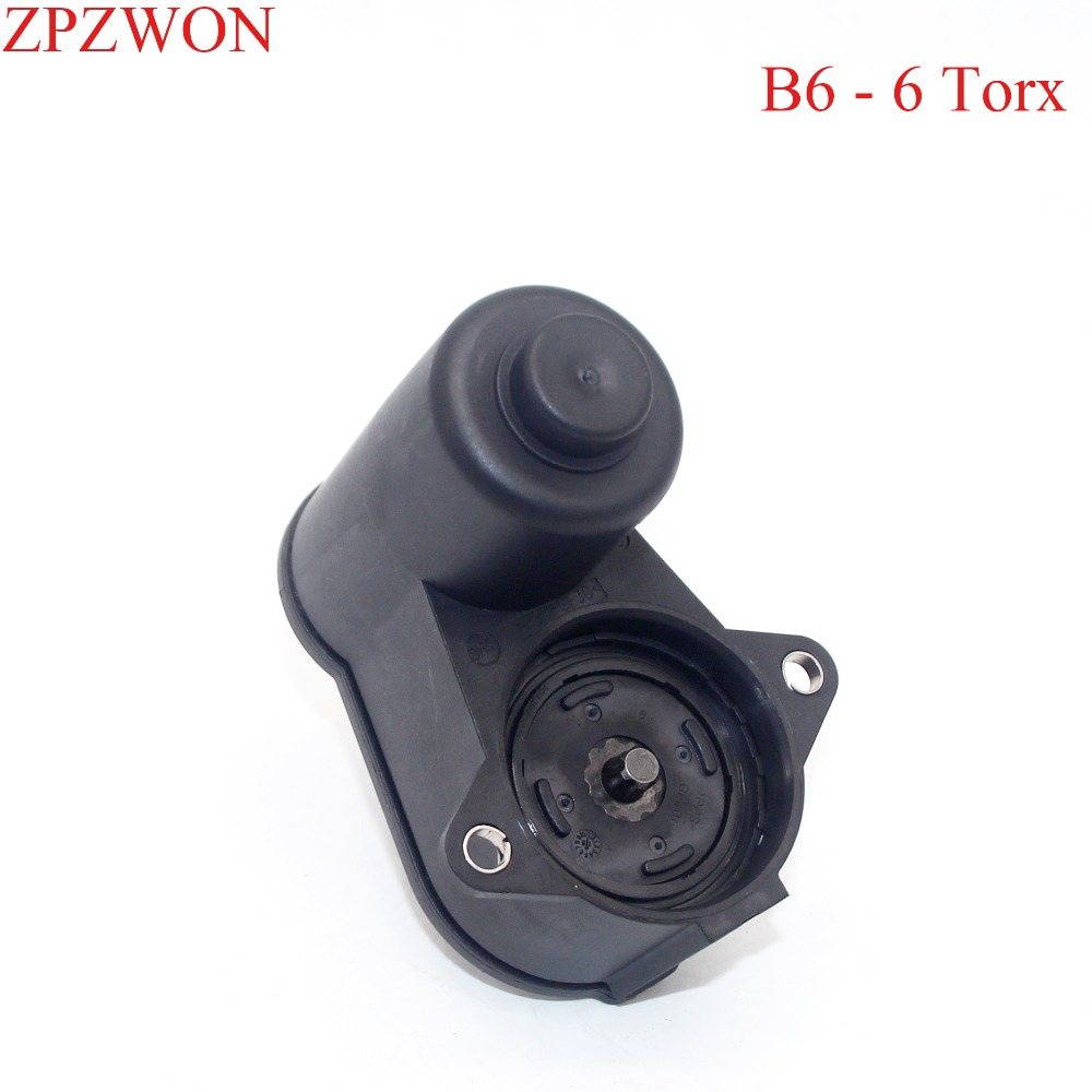 6/12 Torx Rear Caliper HandBrake Parking Servo Motor For VW Passat B6 CC Tiguan Audi 3C0998281 3C0998281A 3C0998281B 32330208(China)