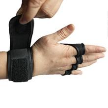 Новинка, 1 пара, перчатки для занятий тяжелой атлетикой, женские, мужские, для фитнеса, спорта, бодибилдинга, гимнастики, захваты для тренажерного зала, защита для ладоней, перчатки