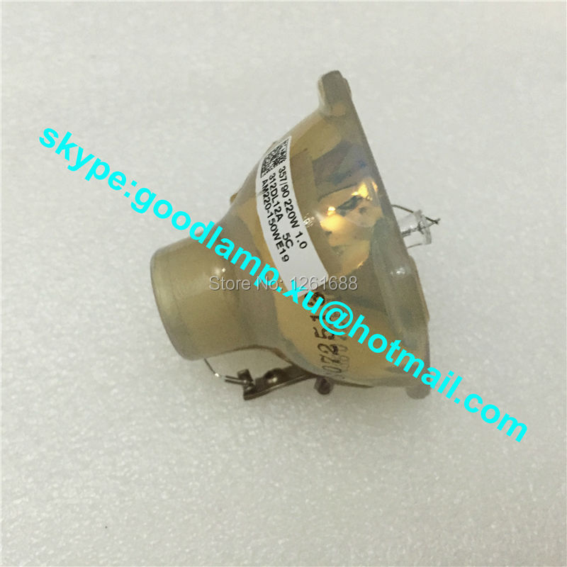 ФОТО UHP200/150W Genuine Original Bare Lamp Bulb for NP09LP / NP03LP , NP60 / NP61 / NP62/ NP63/ NP64 projectors