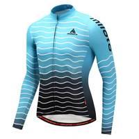 Miloto Men Long Sleeve Cycling Jersey Cycling Clothing Maillot Ciclismo Roupa Ciclismo Racing Sport Road Mtb