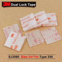 3M SJ3560 Clear mushroom head tape/3M mushroom head 0 tape 1in*1in*1000pcs/5% off if 2lots or more/We can offer any size