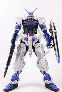 Image 4 - COMIC CLUB IN STOCK in stock Nillson pg 1/60 Gundam seed Astray BLU Telaio con Cannone azione di montaggio figura giocattolo