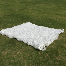 8Mt * 8 Mt white camo netting exhibition trade show sunshade netting camping hiking sun shelter tree home decoration