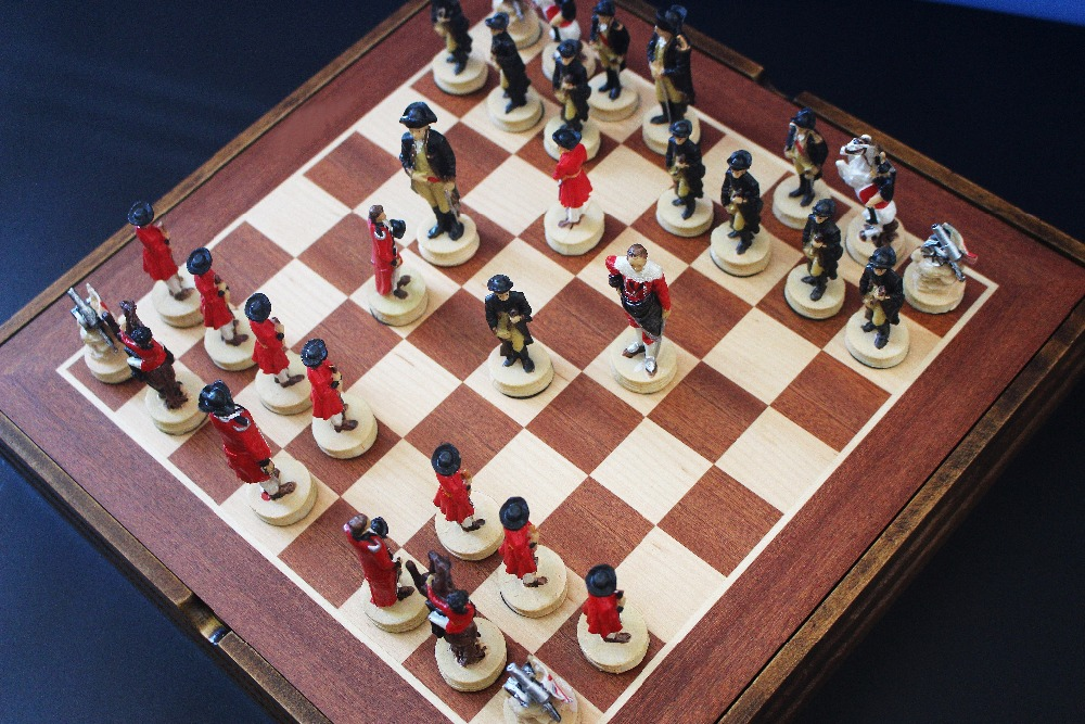 High Quality Chess Set The Independent War Series Chess ...