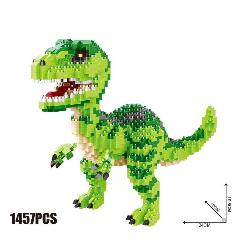 Jurassic Dinosaurs park Pterosauria Triceratops Indomirus T-Rex World Figures legoing Bricks Toys Building Blocks BKX72 single dinosaurs tyrannosaurus rex triceratop pterosauria velocirapto movie mini building blocks toys legoings jurassic world