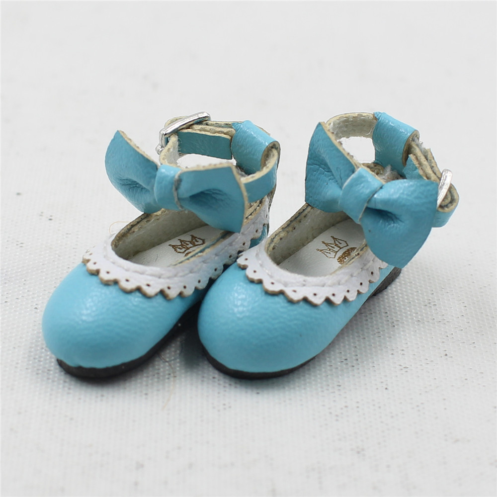 Neo Blythe Doll Designer Shoes with Bow 17