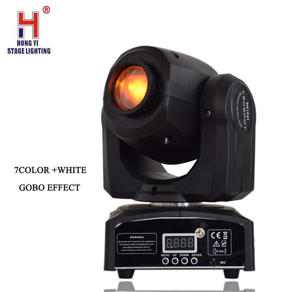 10W LED Mini Moving Head Light Spot Gobo Light DMX Control Stage Lighting For Party DJ Disco10W LED Mini Moving Head Light Spot Gobo Light DMX Control Stage Lighting For Party DJ Disco