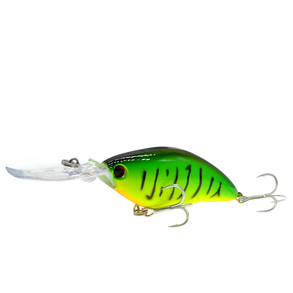 Image 3 - 110mm 18g Deep Diving Pesca Fishing Lure Hard Crankbait Minnow Wobbler for Bass-in Fishing Lures from Sports & Entertainment