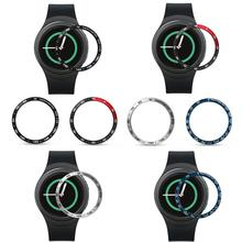 For Samsung Gear S2 Sports Aluminum Foil Bezel for Smartwatch Protection Ring