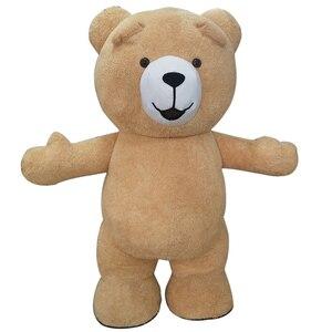 Image 5 - Urso de pelúcia traje inflável adulto gonflável nossos traje cosplay nossos en peluche mascote animal lol