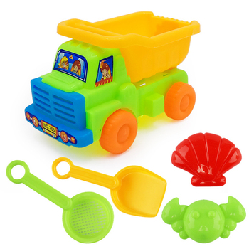 5PCS/Set Toy Car Kit Educational Toys Sand Magic Sand Castle Models Building Beach Dynamic Magic Sand Clay Model Building Toys sand mold toys castle clay mold building model beach toys for kids child baby r9ue