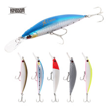 Kingdom Sea Fishing Lures 11g 26g JERKBAIT Arduous Lure Sinking and Droop Wobblers Minnow Depth 0.4-1.2m Bass Pike Bait VMC Hooks