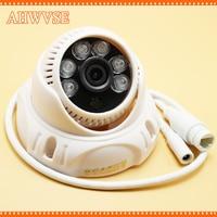 POE IP Camera 1MP 1280 720P IR Night Vision Video CCTV Camera With 3 6mm Lens