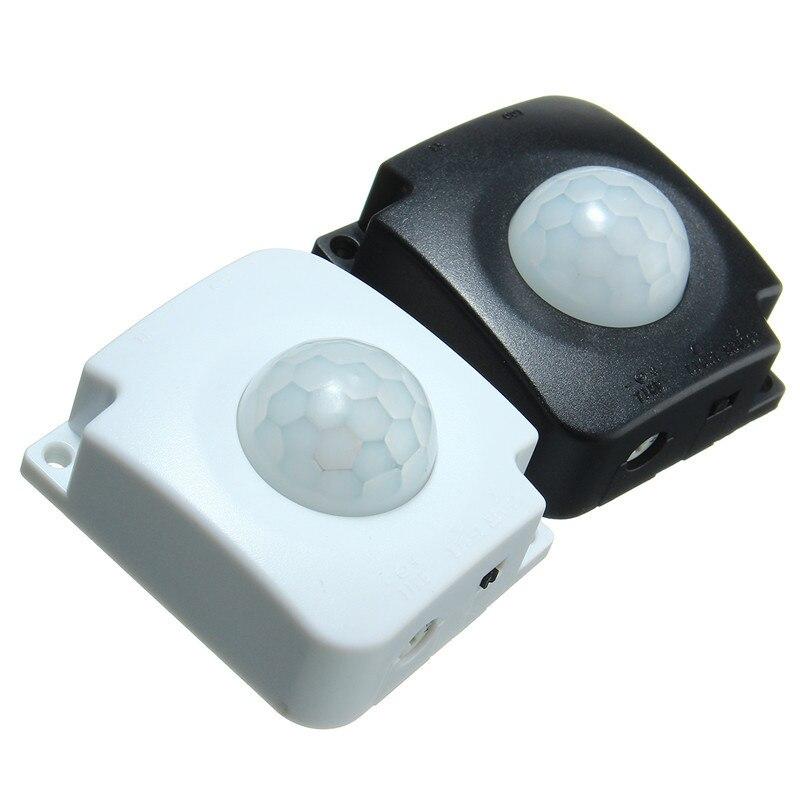 Automatique 10A Détecteur Infrarouge PIR, Détecteur de Mouvement LED Bande Lumière Accessoires Réglable Temps de retard Avec 2 Mâle 5-30 V