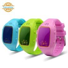 Smartphone Kinder Kid Armbanduhr TC090 GSM GPRS GPS Locator Tracker Anti-verlorene Smartwatch Kind Schutz für iOS Android