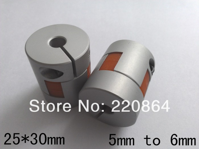 buy Plum-style Motor Jaw Shaft Coupling 5mm to 6mm