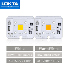 5PCS/LOT 10W AC220V /110V Smart IC COB Chip led Lamps light beads For DIY Floodlight Garden Lawn Lighting