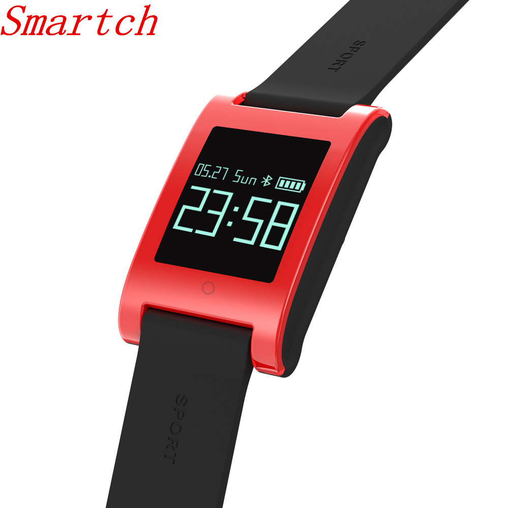 Smartch DM68 Smart Band Blood Pressure Heart Rate Monitor Wristband Bracelet Fitness Sleep Activity Tracker Message
