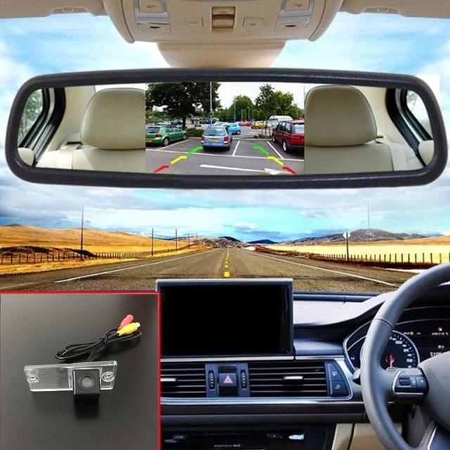 5'' hd tft lcd screen car mirror monitor for kia sephia spectra