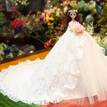 Wedding Doll Music Princess Toys For Girls Baby Dolls Lol Doll Toys For Children Reborn Doll Send Girls The Best Christmas Gifts lol shell doll toys for girls godd quantly lol pearl dolls for kids child children blue and green stand by one piece generation