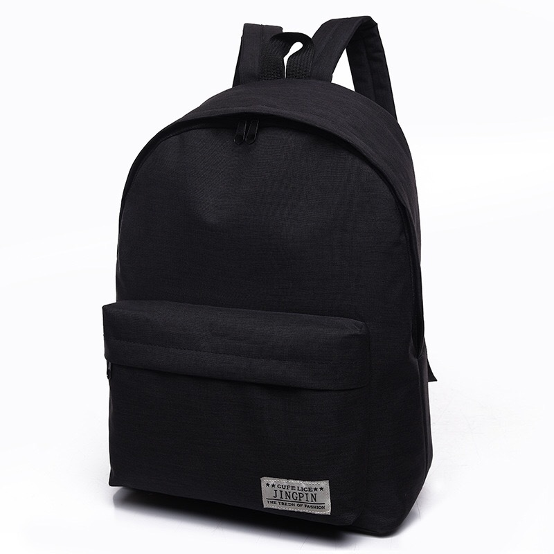 Canvas backpack Travel For Teenage Girl Backpacks Nylons Black Classic Bagpack Women Japanese Anime Backpack School Bags HAF002 women s classic backpack