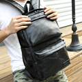 Large Capacity men's bags business backpack women back school bags Solid color quality laptop backpack brown bagpacks for boys