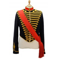 Cosplaydiy Custom Made Victorian Army Officer Cosplay Costume Jacket Top Medieval Soldier Officer Uniform Coat L320