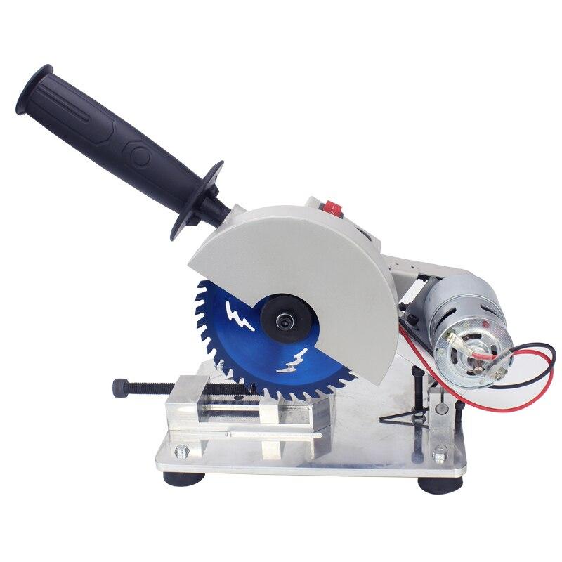 Multi-function cutting machine household small mini desktop motor woodworking stone steel plastic 45 degree electric saw
