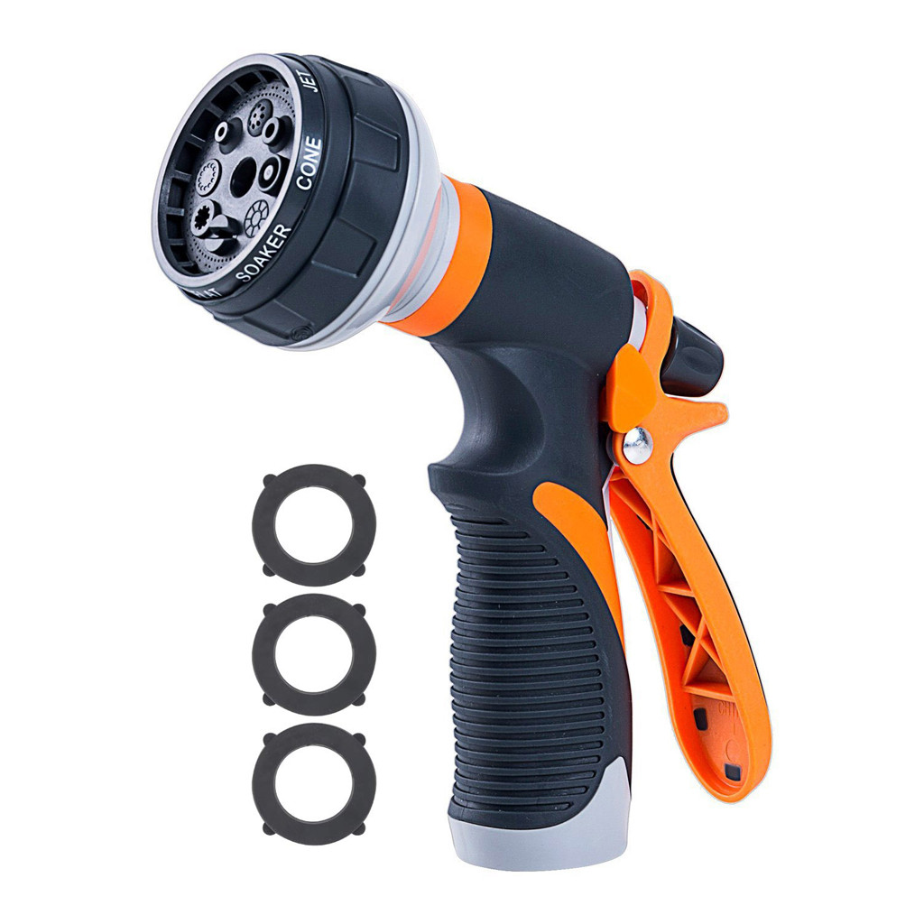 Nozzle Watering-Spray Sprinkle-Tools Garden-Hose Car-Washing-Yard High-Pressure 8-Patterns