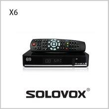 Nueva llegada 5 unids genuinos S receptor de satélite X6 / TV Box soporte 2 WEB USB TV IPTV tarjeta de 3 G modem envío gratis