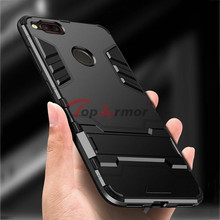 3D Armor Case Hybrid PC+TPU Shockproof Case For ZTE nubia Z17 Z17s V18 Phone Case For ZTE nubia Z17 mini Z17 miniS Stand Cover смартфон nubia z17s 8 128gb blue