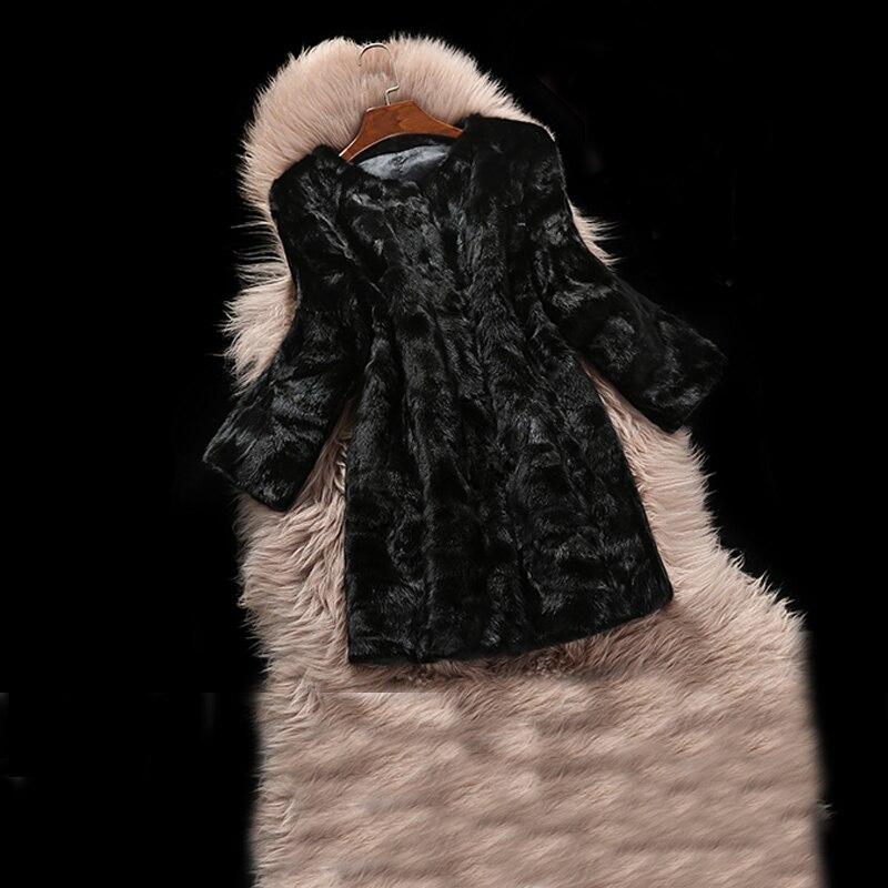 Mode Vison Veste Fourrure Livraison Naturelle Chaude Gros Outwear À Réel Long Usine Vente Gratuite De Nouveau En 2018 Jn517 Manteau 5nwgxqFvSC