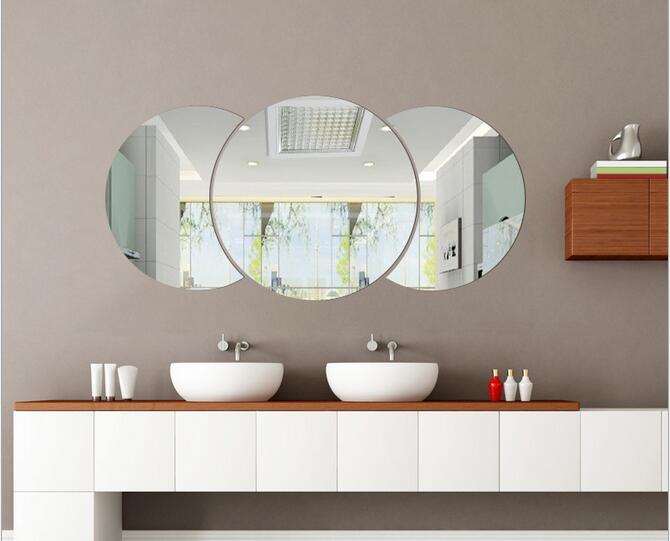 Grote Ronde Spiegel : Grote ronde zilveren spiegel wilhelmina designs