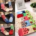 5 pares/lote crianças meias para menina de crianças meias bonito ombre faixa de meias colorido de meias para 1 - 10 anos criança
